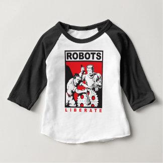 Robot sets you free baby T-Shirt