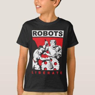Robot sets you free T-Shirt