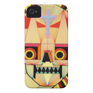 robot skulls iPhone 4 Case-Mate cases