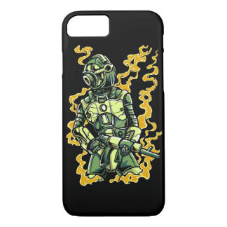 Robot Soldier Glossy Phone Case