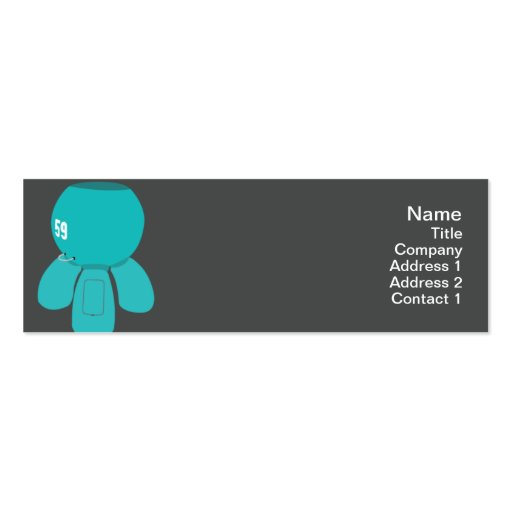 Robot Spyder - Skinny Business Card