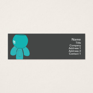 Robot Spyder - Skinny Mini Business Card