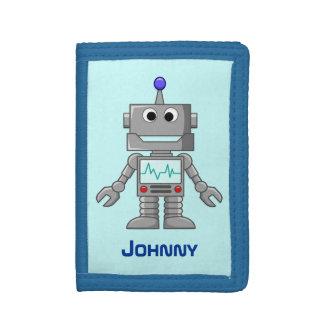 Robot Tri-fold Wallet
