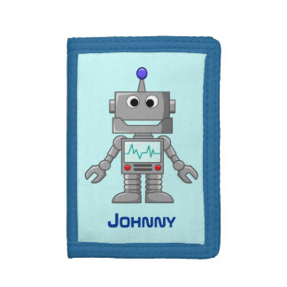 Robot Trifold Wallets
