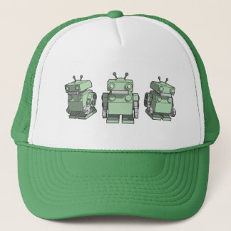 Robot Trio Trucker Hat