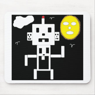 ROBOT TWIN MOUSE PAD