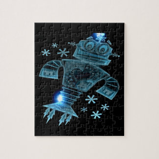 Robot two jigsaw puzzle