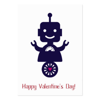 Robot Valentine - Scooter Pack Of Chubby Business Cards