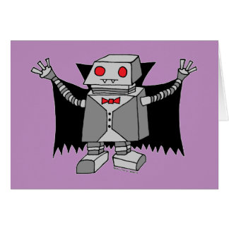 Robot Vampire Card