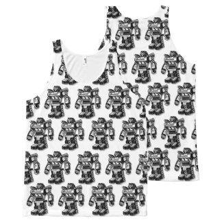 Robot warrior All-Over print singlet