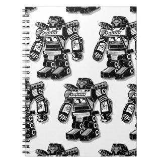 Robot warrior notebooks