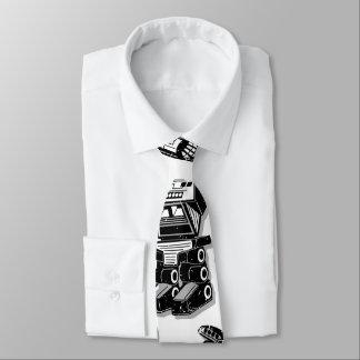 Robot warrior tie