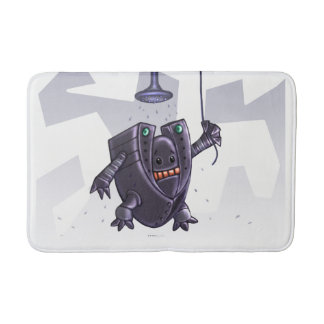 Robot wash Small Bath Mat Medium