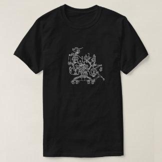 Robot Worker Doodle T-Shirt