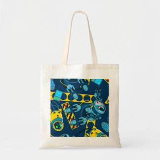 Robot zone tote bag