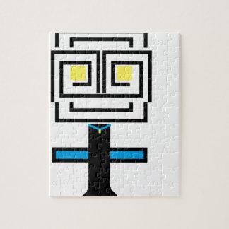 ROBOTIC CARTOON A JIGSAW PUZZLE
