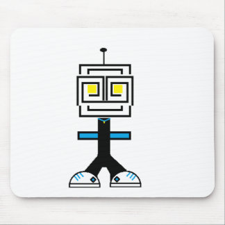 ROBOTIC CARTOON A MOUSE PAD