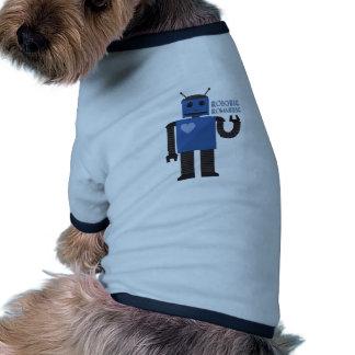 Robotic Romantic Dog Shirt
