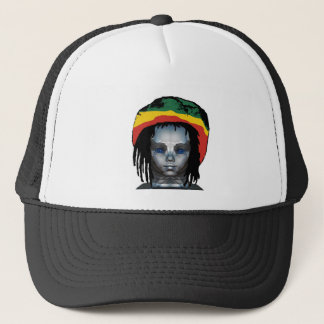 Robotics Rastafarian Trucker Hat