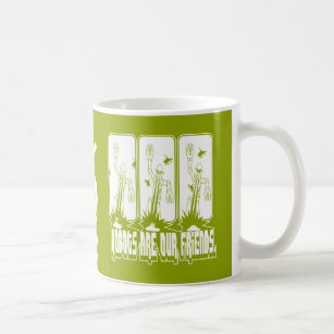 Robots are our friends [][][] mug