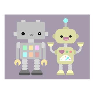 Robots At Play Postcard