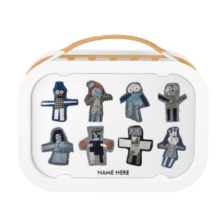 ROBOTS - customizable Lunch Box
