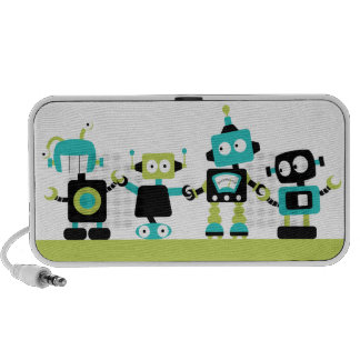 Robots - Green Speaker System