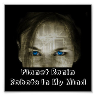 Robots In My Mind Poster