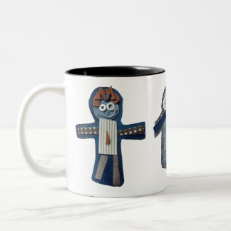 ROBOTS nina, siena, otto Two-Tone Coffee Mug