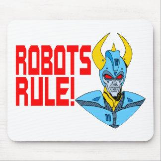 Robots Rule Mouse Pad