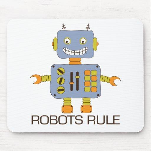Robots Rule Mousepads