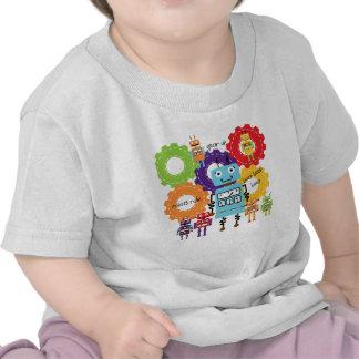 Robots Rule T-shirts