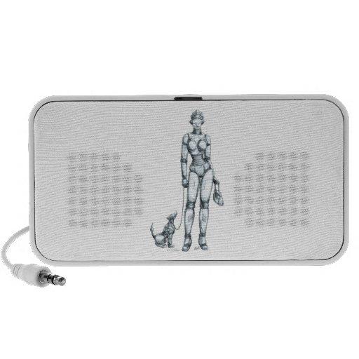 Robots Portable Speakers