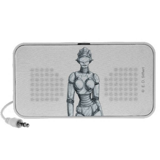 Robots iPhone Speaker