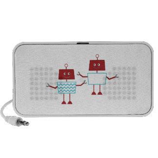 Robots Notebook Speakers