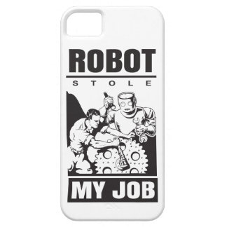 robots stole my job iPhone 5 covers
