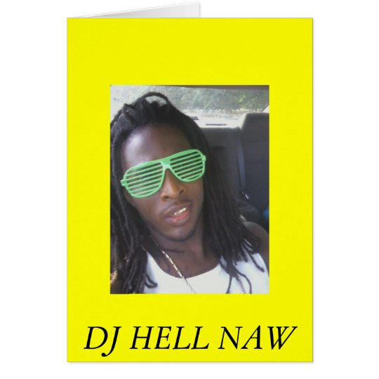 roc3, DJ HELL NAW Card