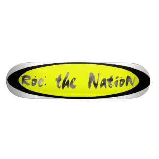 roc the nation board 21.6 cm skateboard deck