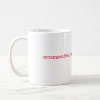 Rocco's Revolution coffee mug swag