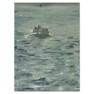 Rochefort's Escape by Edouard Manet Tissue Paper