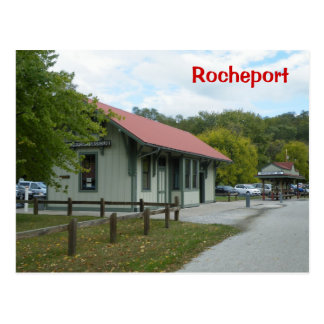 Rocheport Railroad Station Postcard