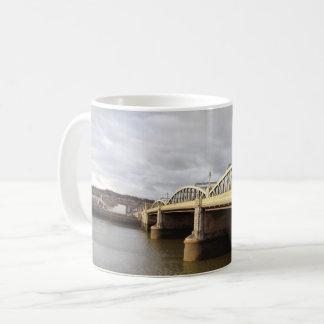Rochester Bridge White Coffee Mug