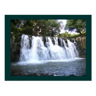 Rochester Falls Mauritius Postcard