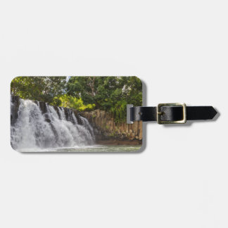 Rochester Falls waterfall in Souillac Mauritius Luggage Tag
