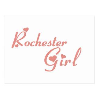 Rochester Hills Girl tee shirts Postcard