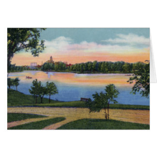 Rochester Minnesota Silver Lake Card
