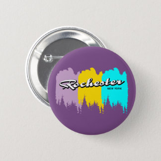 Rochester New York 6 Cm Round Badge