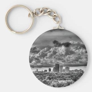 Rochester Skyline Key Ring