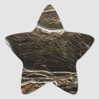 Rock abstract. star sticker