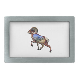 Rock and Ramble Rectangular Belt Buckle